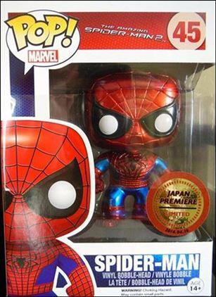 POP! Marvel Spider-Man Metallic Japanese Exclusive