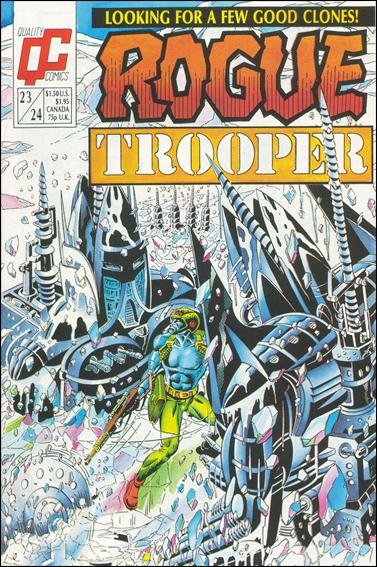 Rogue Trooper 23/24-A by Quality Comics