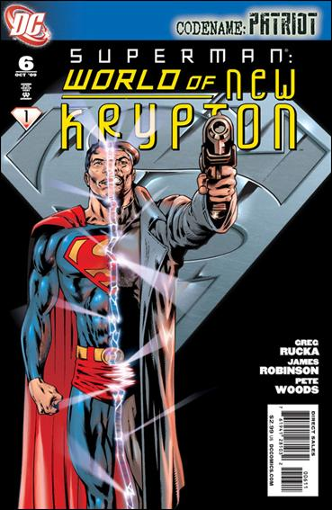 Superman: World of New Krypton 6-A by DC