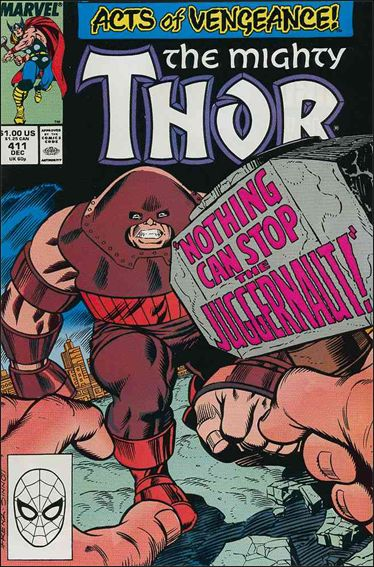 Thor (1966) 411-A by Marvel