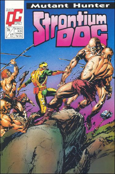 Strontium Dog (1987) 16/17-A by Quality Comics