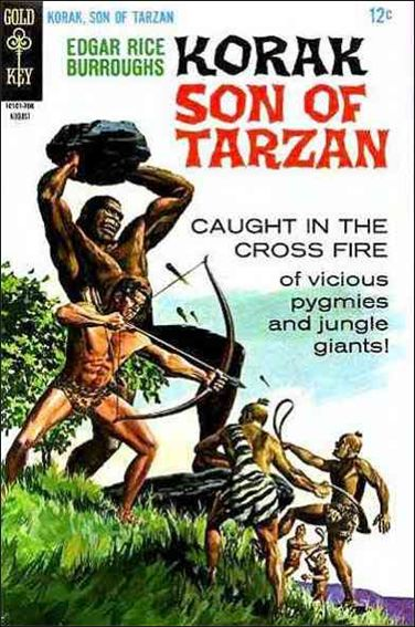 Korak, Son of Tarzan 18-A by DC