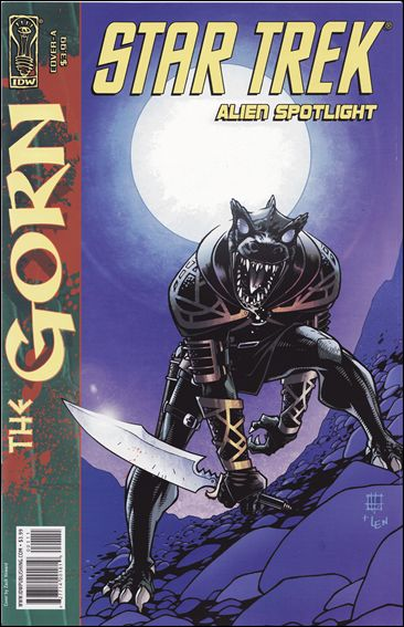 Star Trek: Alien Spotlight: Gorn 1-A by IDW