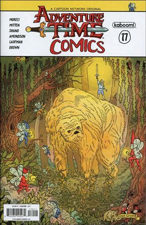 Adventure Time Comics 17-A
