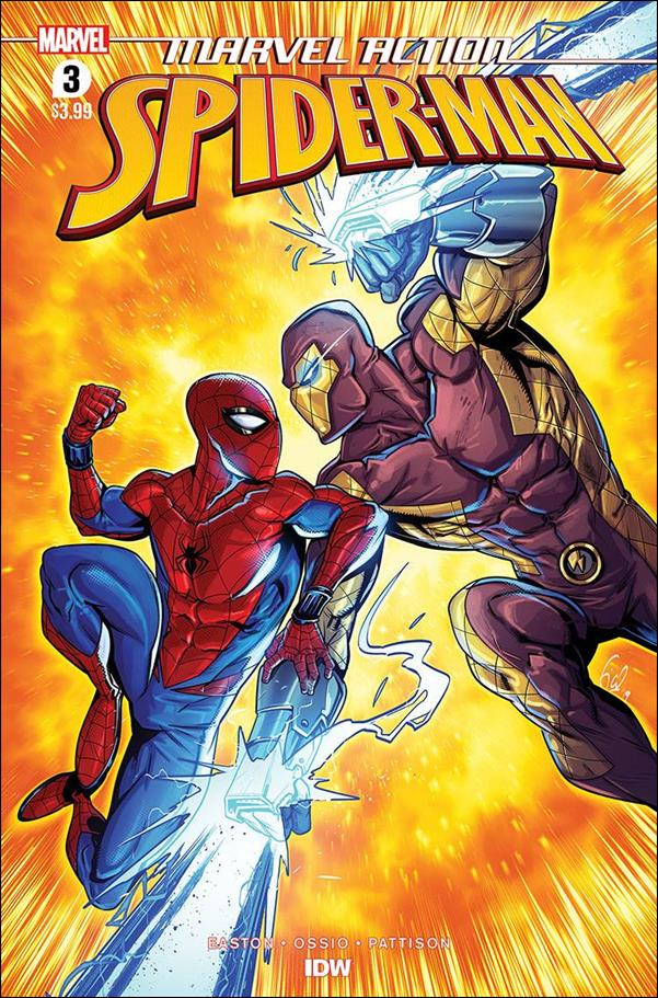 Marvel Action: Spider-Man (2020) 3-A by IDW