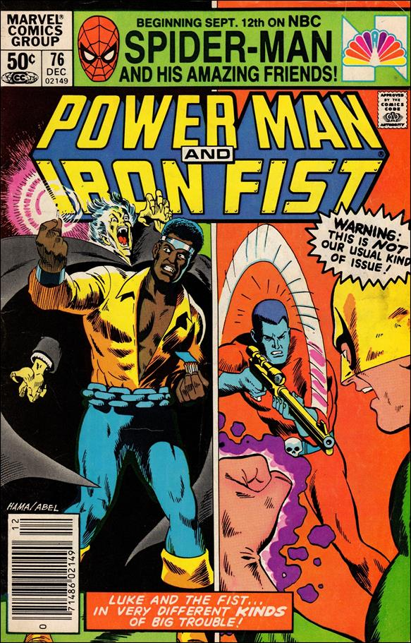 Power Man and Iron Fist (1978) 76-A by Marvel