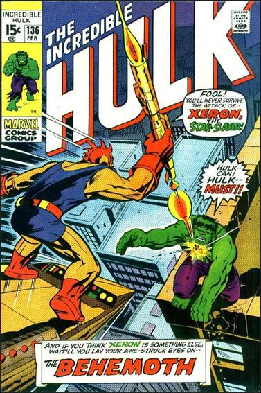 Incredible Hulk (1968) 136-A by Marvel