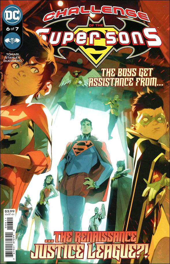 Challenge of the Super Sons 6-A by DC