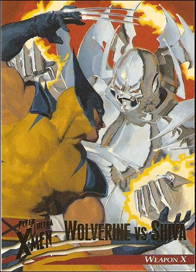 1996 Fleer Ultra X-Men: Wolverine (Base Set) 5-A by Fleer