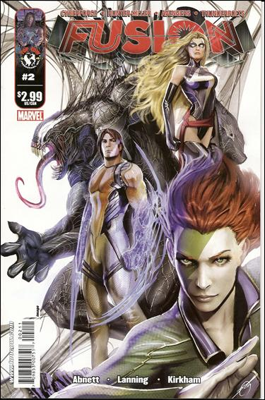 Fusion (2009) 2-A by Top Cow