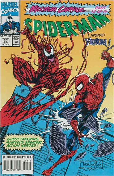 Spider-Man 37-A by Marvel
