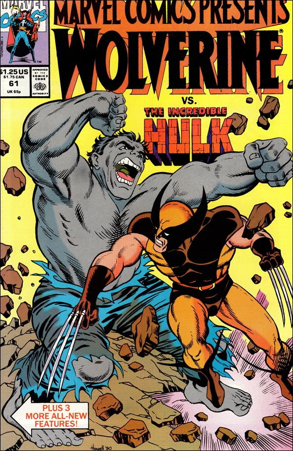 Marvel Comics Presents (1988) 61-A by Marvel