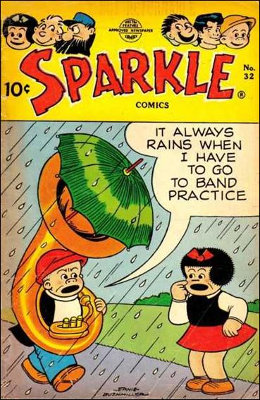 Sparkle Comics (1948) 32-A by United Features Syndicate