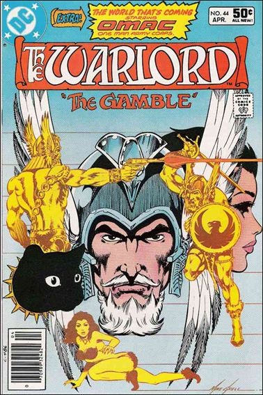 Warlord (1976) 44-A by DC