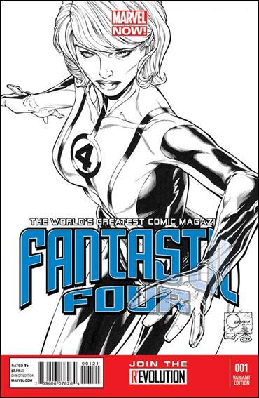 Fantastic Four (2013) 1-D by Marvel