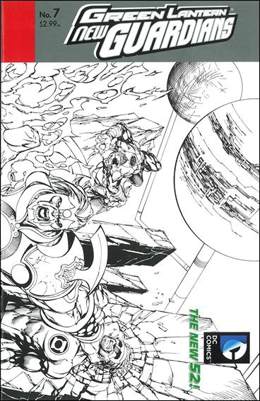 Green Lantern: New Guardians  7-B by DC