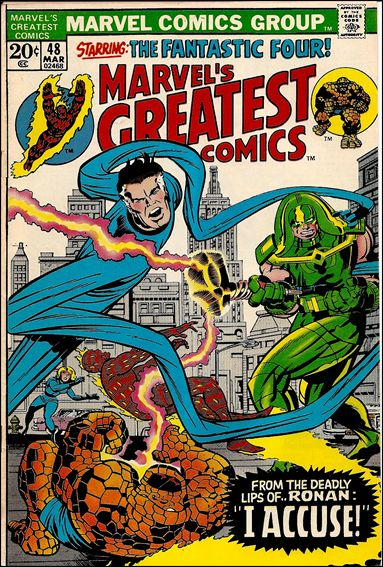 Marvel's Greatest Comics 48-A by Marvel