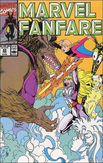 Marvel Fanfare (1982) 55-A by Marvel