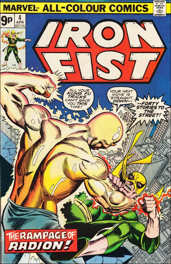 Iron Fist (1975) 4-B by Marvel