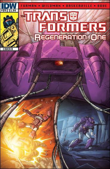 Transformers: Regeneration One 89-A by IDW