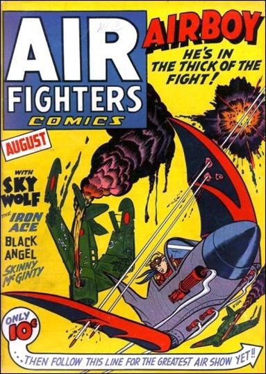 Air Fighters Comics (1941) 11-A by Hillman