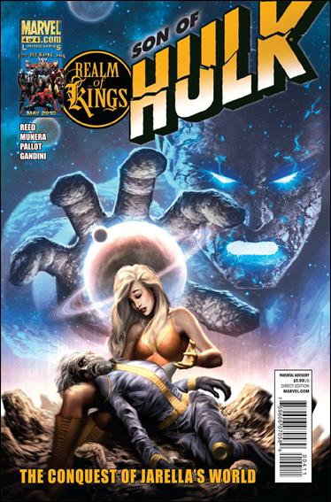 Realm of Kings: Son of Hulk 4-A by Marvel