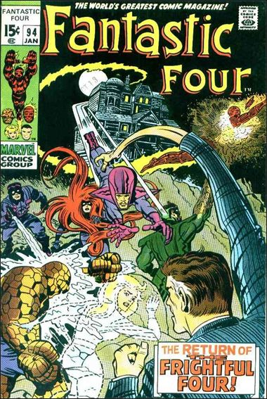 Fantastic Four (1961) 94-A by Marvel
