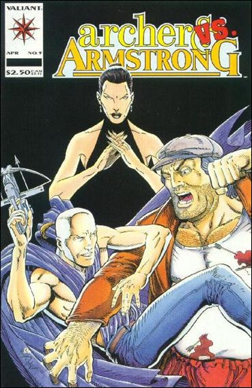Archer & Armstrong (1992) 9-A by Valiant