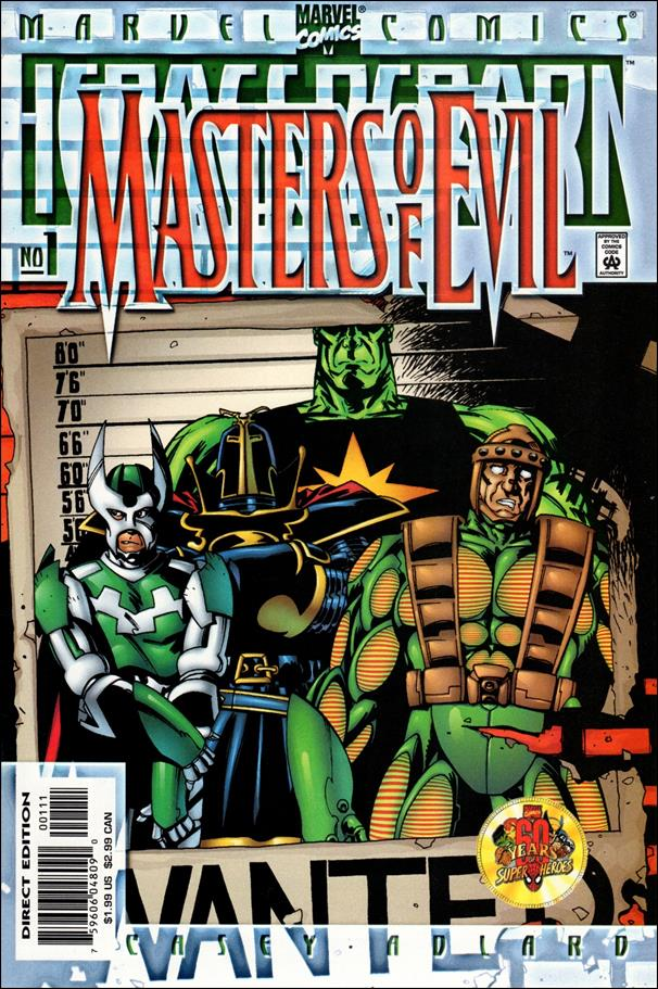 Heroes Reborn: Masters of Evil 1-A by Marvel