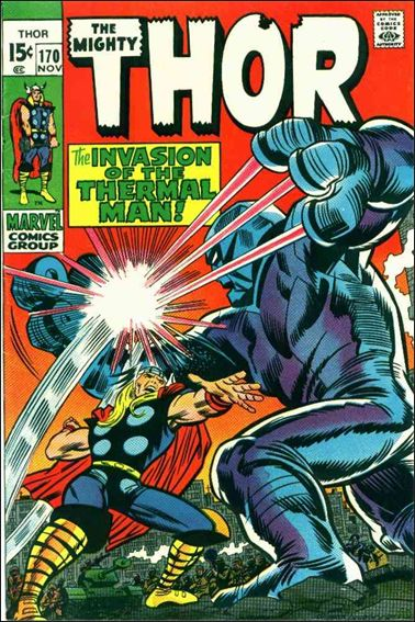 Thor (1966) 170-A by Marvel