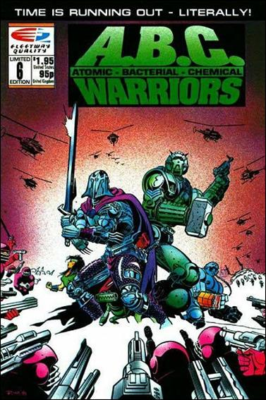 A.B.C. Warriors 6-A by Fleetway Quality