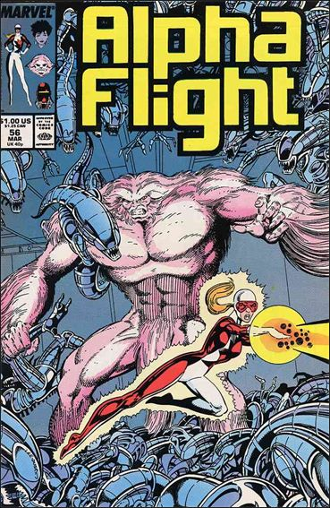 Alpha Flight (1983) 56-A by Marvel