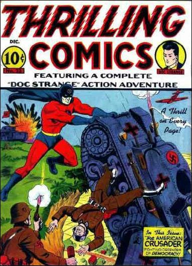 Thrilling Comics (1940) 23-A by Standard