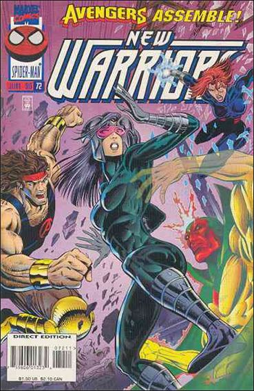 New Warriors (1990) 72-A by Marvel