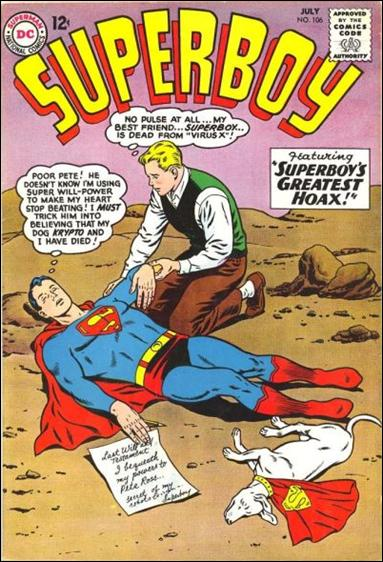 Superboy (1949) 106-A by DC