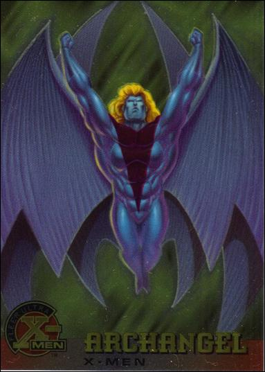 1995 Fleer Ultra X-Men All Chromium (Base Set) 1-A by Fleer