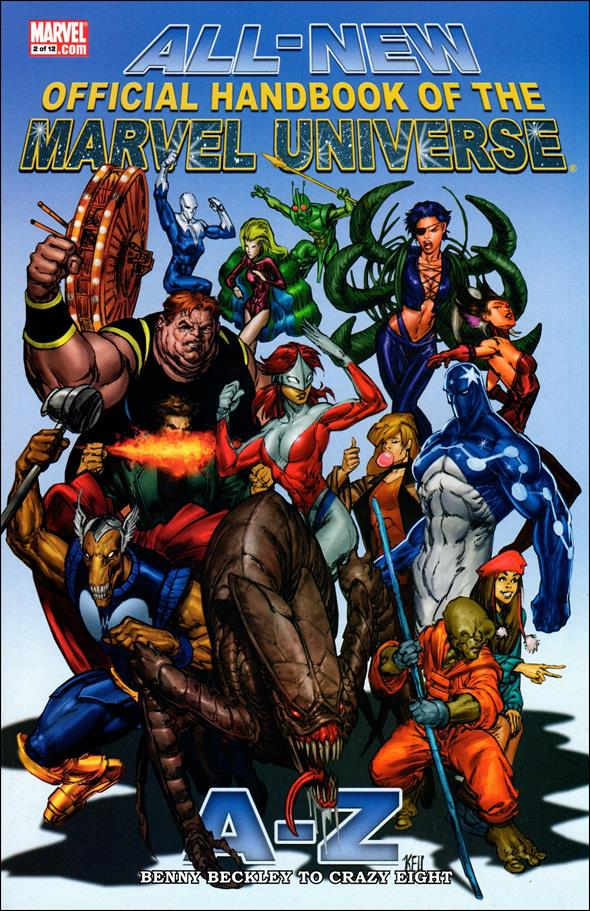 All-New Official Handbook of the Marvel Universe A to Z 2-A by Marvel