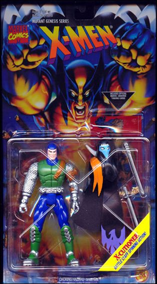X-Men (Mutant Genesis Series) X-Cutioner (Dark Green) by Toy Biz