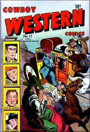 Cowboy Western 17-A by Charlton