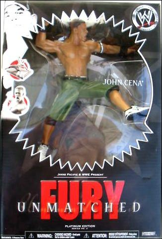 John Cena WWE Unmatched fury Figure New In Box