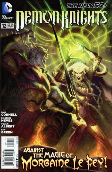 Demon Knights 12-A by DC