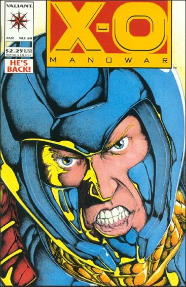X-O Manowar (1992) 24-A by Valiant