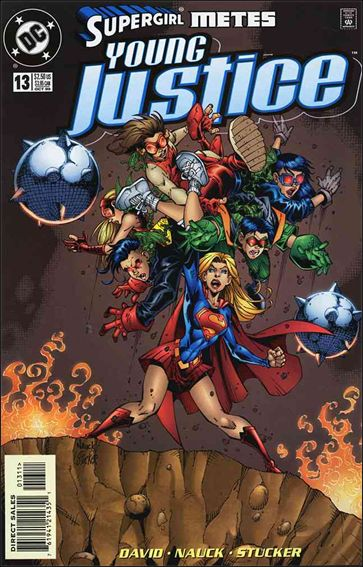 Young Justice (1998) 13-A by DC