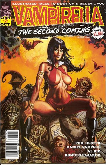 Vampirella: Second Coming 2-B by Harris