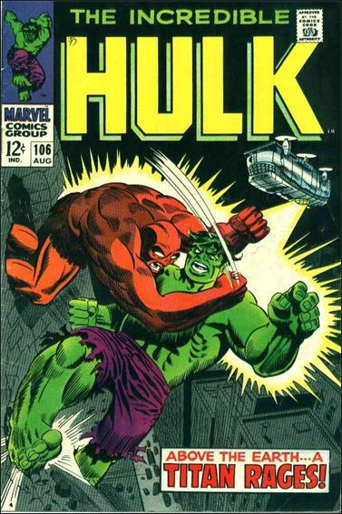Incredible Hulk (1968) 106-A by Marvel