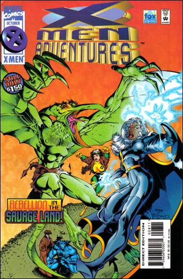 X-Men Adventures (1995) 8-A by Marvel