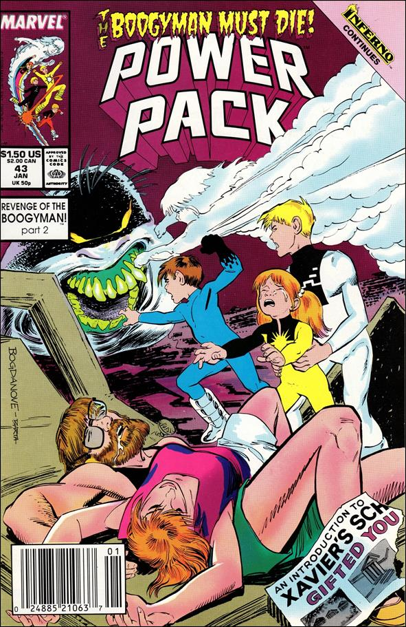 Power Pack (1984) 43-A by Marvel