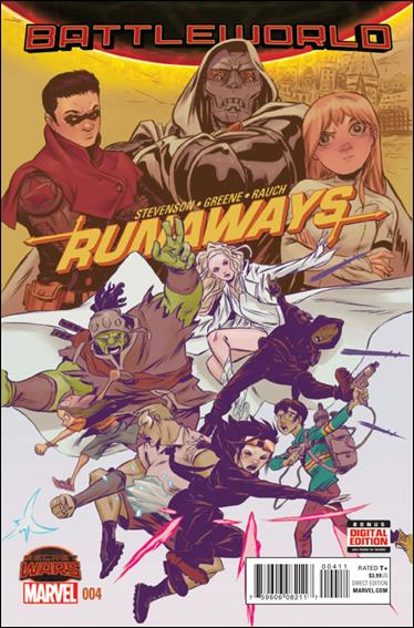 Runaways (2015)  4-A by Marvel