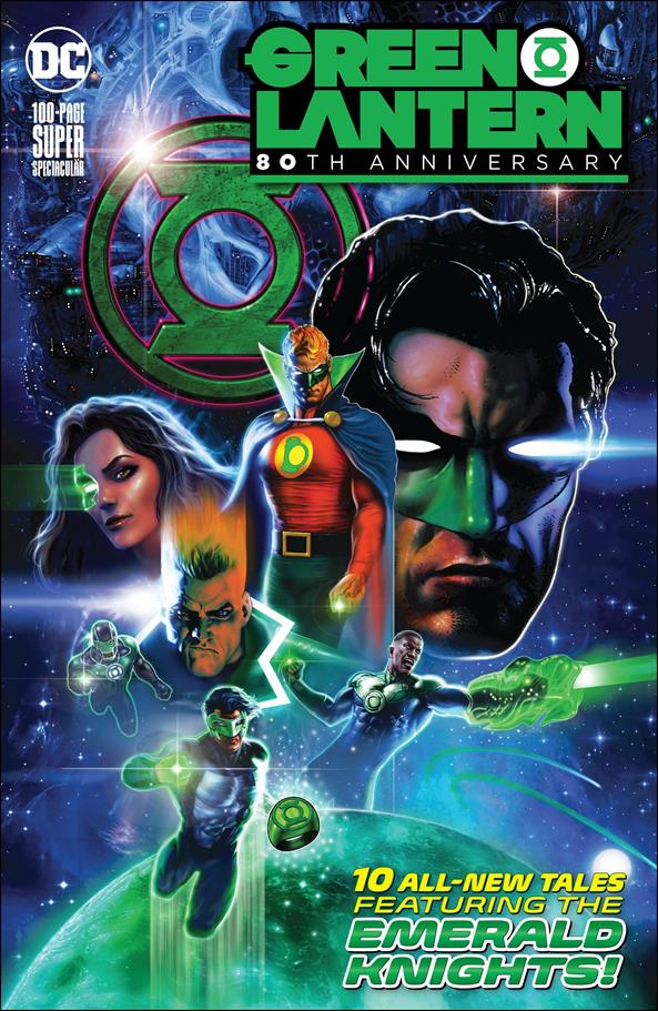 Green Lantern 80th Anniversary 100-Page Super Spectacular 1-A by DC