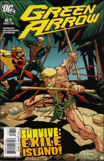 Green Arrow (2001) 67-A by DC